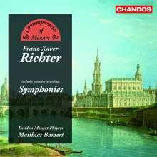 Franz Xaver Richter (1709-1789): Symphonien, CD