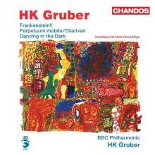 Heinz Karl Gruber (geb. 1943): Frankenstein!! (Orchesterversion), CD