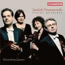 Karol Szymanowski (1882-1937): Streichquartette Nr.1 & 2, CD