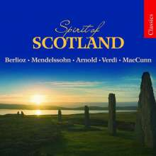 Spirit of Scotland, CD