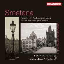 Bedrich Smetana (1824-1884): Orchesterwerke, CD