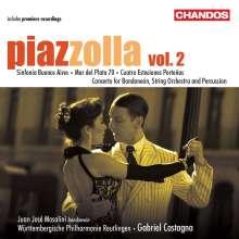 Astor Piazzolla (1921-1992): Symphonische Werke Vol.2, CD