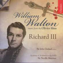 William Walton (1902-1983): Filmmusik: Filmmusik, CD