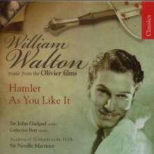 William Walton (1902-1983): Filmmusik, CD