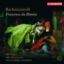 Sergej Rachmaninoff (1873-1943): Francesca da Rimini, CD