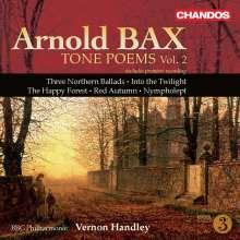Arnold Bax (1883-1953): Symphonische Dichtungen Vol.2, CD