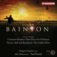 "Edgar Bainton (1880-1956): Klavierkonzert ""Concerto fantasia"", CD"