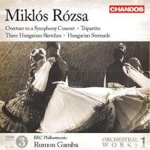 Miklos Rozsa (1907-1995): Orchesterwerke Vol.1, CD