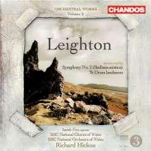 Kenneth Leighton (1929-1988): Orchesterwerke Vol.2, CD