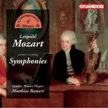 Leopold Mozart (1719-1787): Symphonien Eisen C1,C4,D17,D25,G14, CD