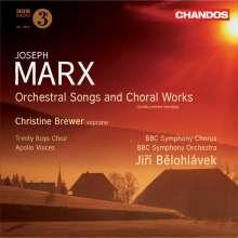 Joseph Marx (1882-1964): Orchesterlieder & Chorwerke, CD