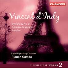 Vincent d'Indy (1851-1931): Orchesterwerke Vol.2, CD