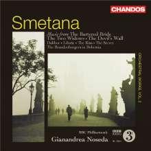 Bedrich Smetana (1824-1884): Orchesterwerke Vol.2, CD
