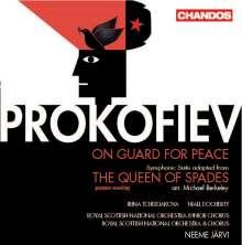 """Serge Prokofieff (1891-1953): Oratorium """"Auf Friedenswache"""" op.124, CD"""