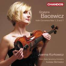 Grazyna Bacewicz (1909-1969): Violinkonzerte Nr.1,3,7, CD