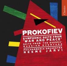 Serge Prokofieff (1891-1953): Krieg & Frieden - Suite, CD