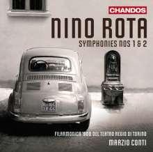 Nino Rota (1911-1979): Symphonien Nr.1 & 2, CD