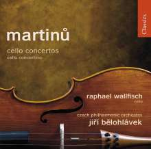 Bohuslav Martinu (1890-1959): Cellokonzerte Nr.1 & 2, CD