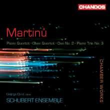 Bohuslav Martinu (1890-1959): Klavierquartett Nr.1 (1942), CD