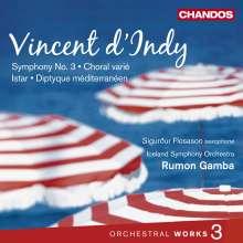 Vincent d'Indy (1851-1931): Orchesterwerke Vol.3, CD