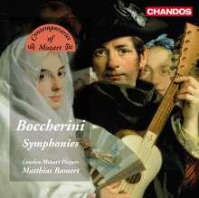 Luigi Boccherini (1743-1805): Symphonien G.503,508,515, CD