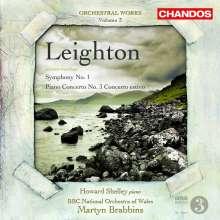 Kenneth Leighton (1929-1988): Orchesterwerke Vol.3, CD