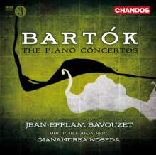 Bela Bartok (1881-1945): Klavierkonzerte Nr.1-3, CD