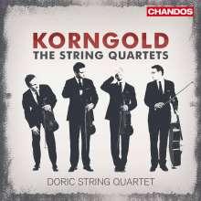 Erich Wolfgang Korngold (1897-1957): Streichquartette Nr.1-3, CD