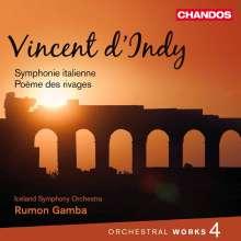 Vincent d'Indy (1851-1931): Orchesterwerke Vol.4, CD