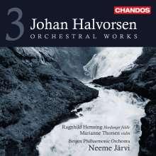 Johan Halvorsen (1864-1935): Orchesterwerke Vol.3, CD
