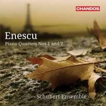 George Enescu (1881-1955): Klavierquartette Nr.1 & 2, CD
