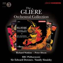 Reinhold Gliere (1875-1956): Orchesterwerke, 5 CDs
