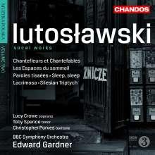 Witold Lutoslawski (1913-1994): Vokalwerke, CD