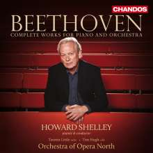 Ludwig van Beethoven (1770-1827): Sämtliche Werke für Klavier & Orchester, 4 CDs