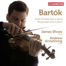 Bela Bartok (1881-1945): Werke für Violine & Klavier Vol.1, CD