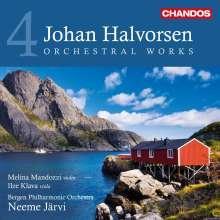 Johan Halvorsen (1864-1935): Orchesterwerke Vol.4, CD