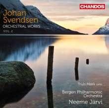 Johan Svendsen (1840-1911): Orchesterwerke Vol.2, CD