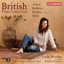 Emily Beynon - British Flute Concertos, CD