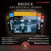 Frank Bridge (1879-1941): Das Orchesterwerk, 6 CDs