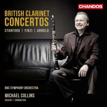 Michael Collins - British Clarinet Concertos, CD