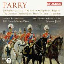 Hubert Parry (1848-1918): Orchester- & Chorwerke, CD