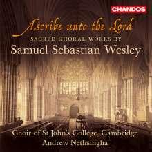 Samuel Sebastian Wesley (1810-1876): Geistliche Chorwerke, CD