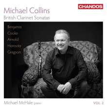 Michael Collins - British Clarinet Sonatas Vol.2, CD