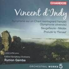 Vincent d'Indy (1851-1931): Orchesterwerke Vol.5, CD