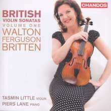 Tasmin Little & Piers Lane - British Violin Sonatas Vol.1, CD