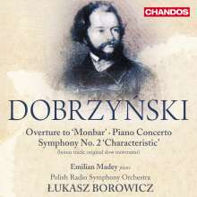 """Ignacy Feliks Dobrzynski (1807-1867): Symphonie Nr.2 """"Characteristic"""", 2 CDs"""