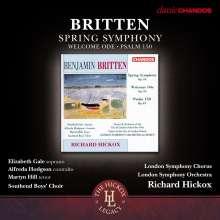 Benjamin Britten (1913-1976): Spring Symphony op.44, CD