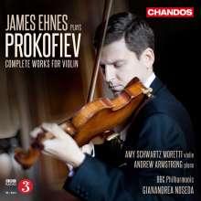 James Ehnes plays Prokofieff, 2 CDs