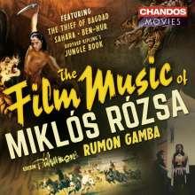 Miklos Rozsa (1907-1995): Filmmusik: Filmmusik, CD