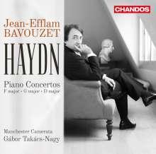 Joseph Haydn (1732-1809): Klavierkonzerte H18 Nr.3,4,11, CD